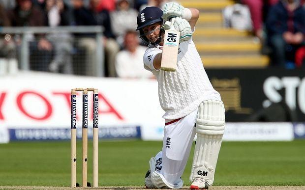 Image result for joe root test batting