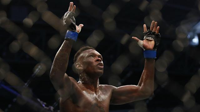 First Robert Whittaker and now Justin Bieber? Israel Adesanya was in jubilant mood after his stunning UFC 243 triumph.
