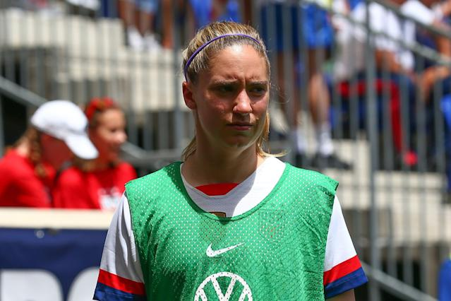 Morgan Brian played every minute of the 2015 World Cup final, and Jill Ellis still trusts her. (Getty)