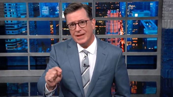Stephen Colbert's Message to Ilhan Omar 'Send Her Back' Chanters: Trump 'Threw You Under the Bus'