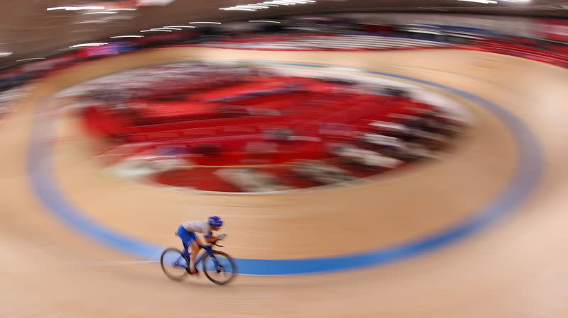 Cycling - Track - Women's Team Sprint - Qualification