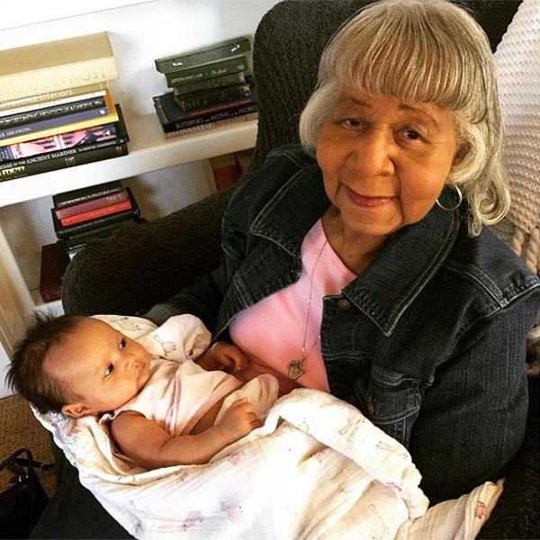 Luna is one popular baby! Legend's grandma traveled from Ohio to meet her newborn great granddaughter.