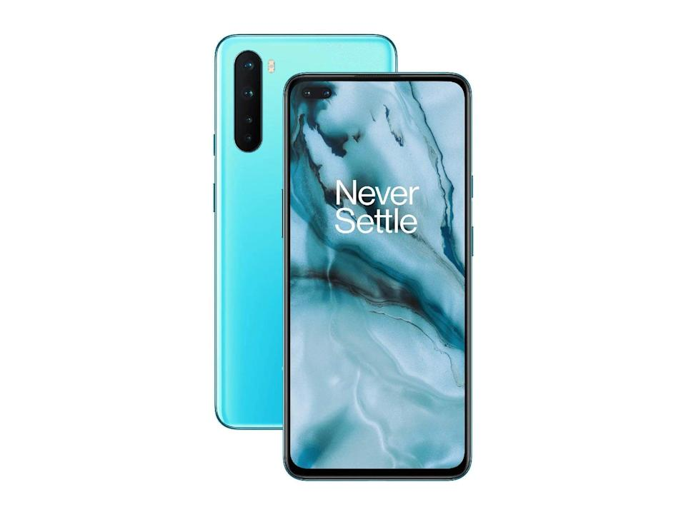 OnePlus nord (5G, 128GB) in Blue Marble: Was £379, now £291.99, Amazon.co.uk (OnePlus)