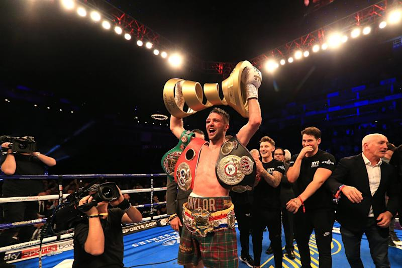 Taylor became a double champion won the World Boxing Super Series in 2019: Getty Images