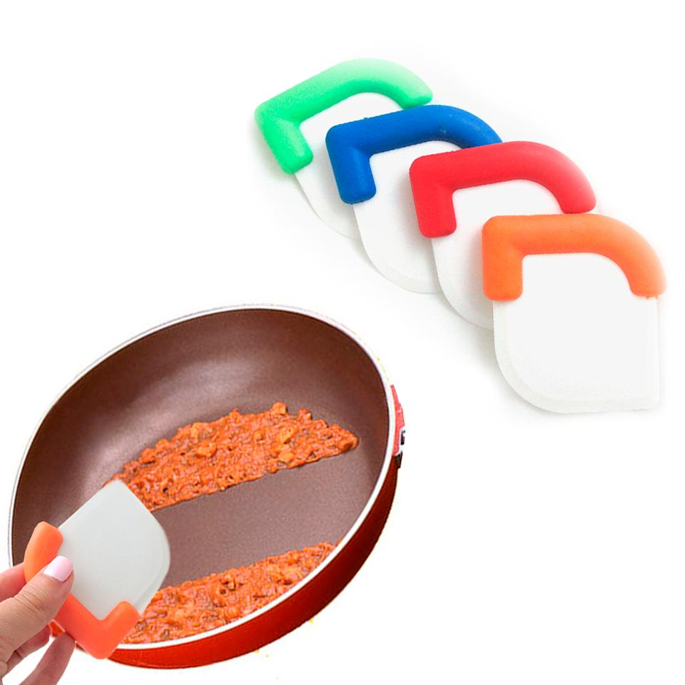 Scratch Free Reusable Nylon Pot Pan Scrapers (Photo: Amazon)