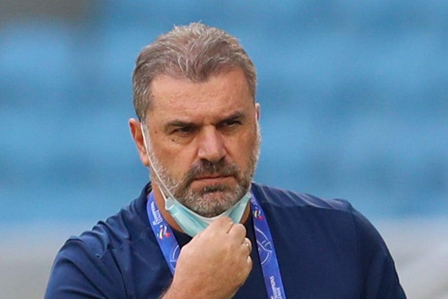 <p>Could Ange Postecoglou become the next manager of Celtic?</p> (AFP via Getty Images)