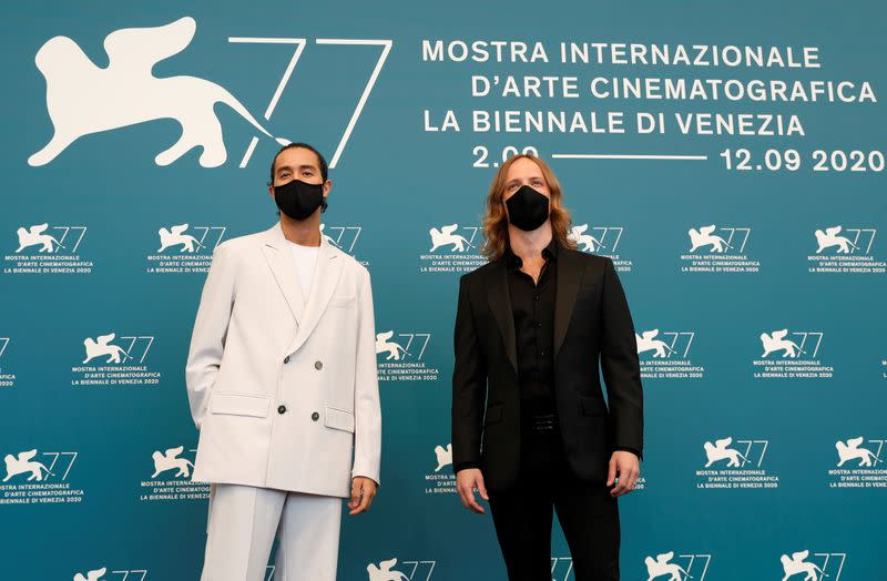 Australian film-maker braves double COVID quarantine for Venice festival