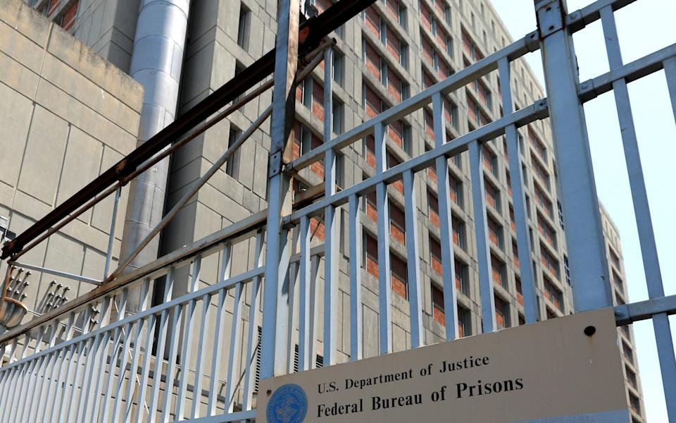 Metropolitan Detention Center where Ghislaine Maxwell is being held in Brooklyn New York - Reuters