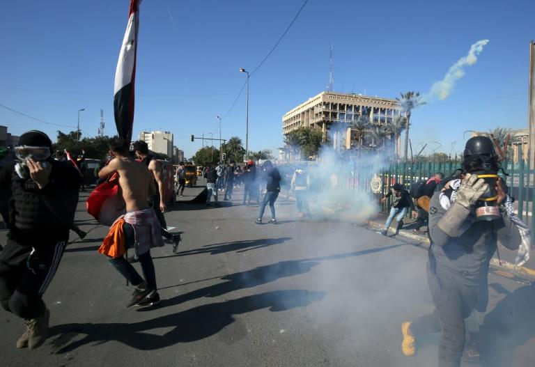 Iraqis have been protesting since early October against a government deemed corrupt and incompetant
