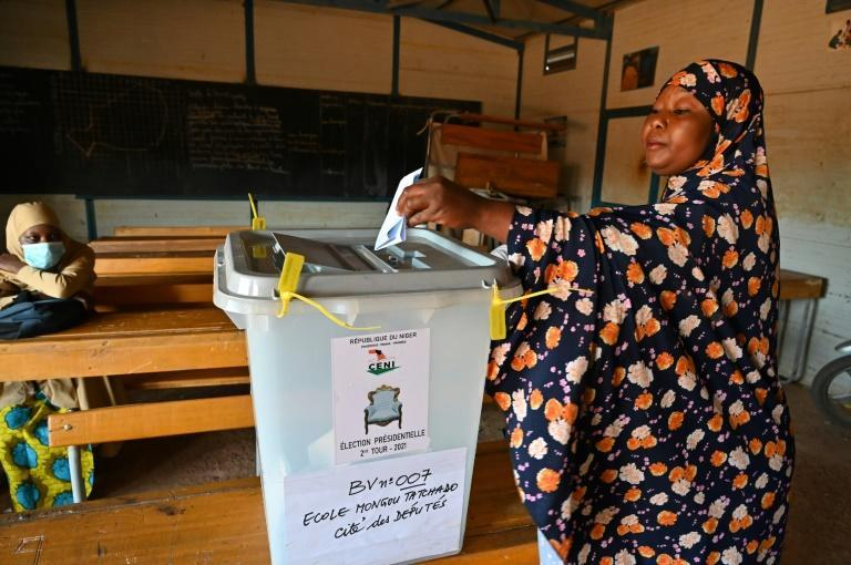 7.4 million people were eligible to vote in Sunday's poll in Niger, ranked the world's poorest nation by the UN