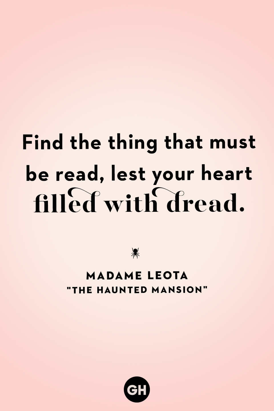 <p>Find the thing that must be read, lest your heart be filled with dread.</p>