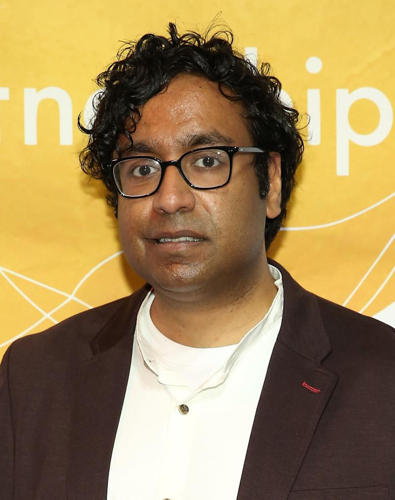 NEW YORK, NY - APRIL 16: Hari Kondabolu attends the Urban Arts Partnership's AmplifiED Gala at The Ziegfeld Ballroom on April 16, 2018 in New York City. (Photo by Monica Schipper/Getty Images for Urban Arts Partnership )