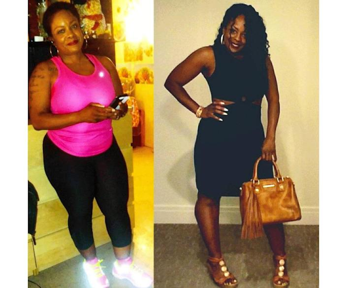 toni weight loss before and after instagram