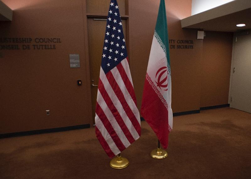 The United States and Iran have had no diplomatic relations since April 1980 in the wake of the Islamic revolution, and tensions have sharpened under US President Donald Trump after a brief warming under his predecessor, Barack Obama (AFP Photo/DON EMMERT)