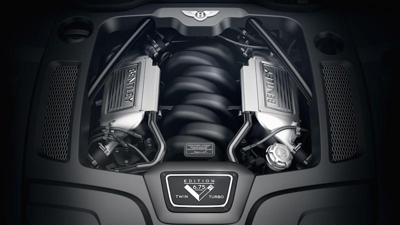 The V8 engine in the Mulsanne has been in production for 60 years