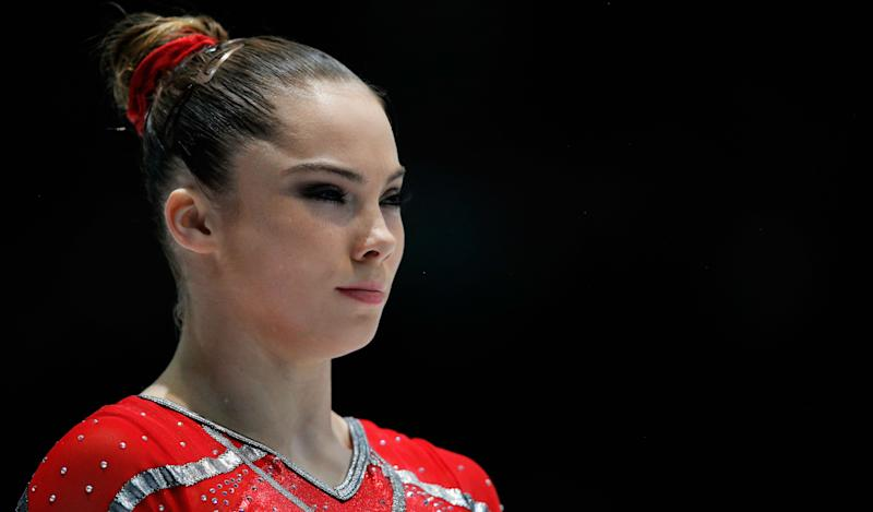 McKayla Maroney of USA gets ready to compete in the Women's Vault Qualification on Day Three of the Artistic Gymnastics World Championships on October 2, 2013 in Antwerpen, Belgium.