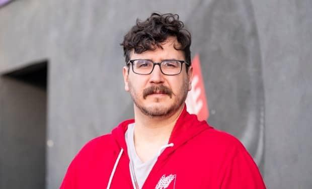 Jason Mercredi, the executive director of Prairie Harm Reduction, says his staff jumped at the chance to get their vaccines.