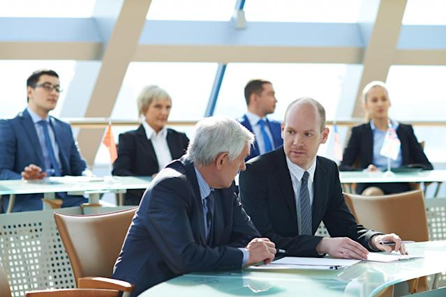 <p>No. 8 highest-paid job: Senior government manager and official*<br>Average full-time hourly wage: $55.45<br>(mediaphotos / Getty Images)<br>*Only includes senior government managers and officials employed in local, municipal, regional and aboriginal public administrations. </p>