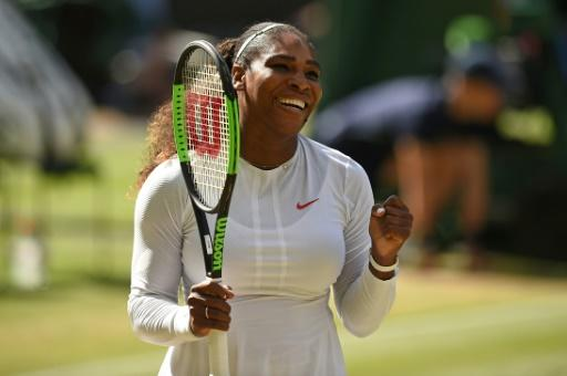 Serena Williams has her sights set on an eighth Wimbledon title