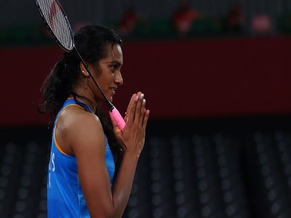PV Sindhu defeated China's He Bing Jiao in the bronze medal match of the ongoing Tokyo Olympics. (Photo Credit: Reuters)