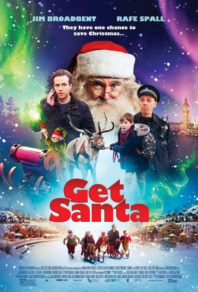 """<p><strong>Netflix description:</strong> """"When Santa gets arrested for trespassing after crashing his sleigh, it's up to a father-son team to spring him from jail and save Christmas.""""</p> <p><strong>Ages it's appropriate for:</strong> 8 and up</p> <p><strong>Watch it here:</strong> <a href=""""https://www.netflix.com/title/80020772"""" class=""""link rapid-noclick-resp"""" rel=""""nofollow noopener"""" target=""""_blank"""" data-ylk=""""slk:Get Santa""""><strong>Get Santa</strong></a></p>"""