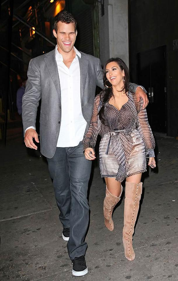 And finally, after tons of media coverage, a 20-carat diamond engagement ring, a multi-million-dollar wedding, three bridal gowns, and a two-part TV special, Kim Kardashian filed for divorce from NBA player Kris Humphries after just 72 days of marriage. We're sure another romance isn't far off! (10/18/2011)