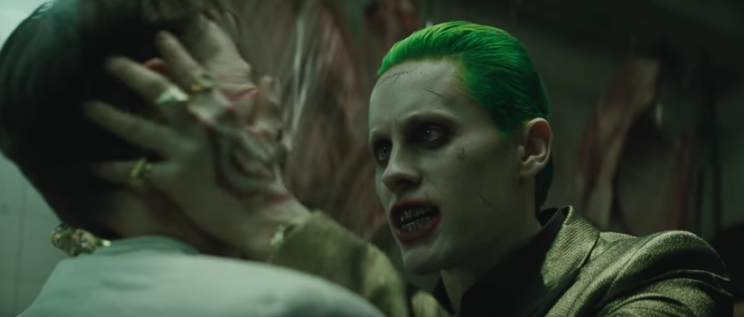 Jared Leto as the Joker in 'Suicide Squad'