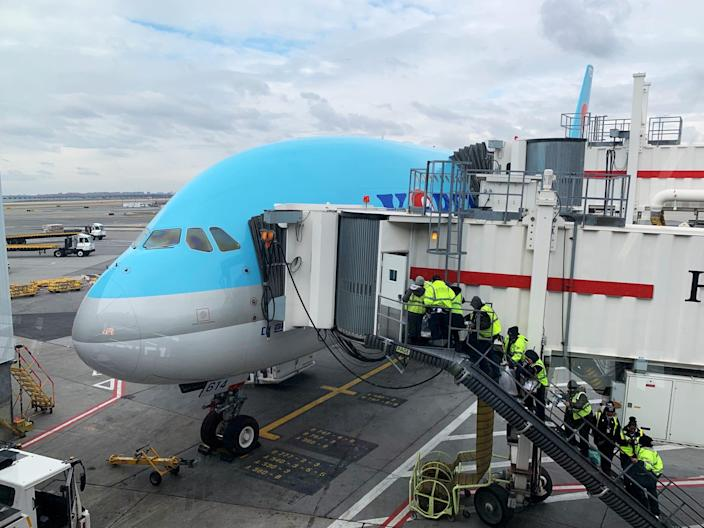Korean Air is not offering refunds to flights to South Korea as of Tuesday.