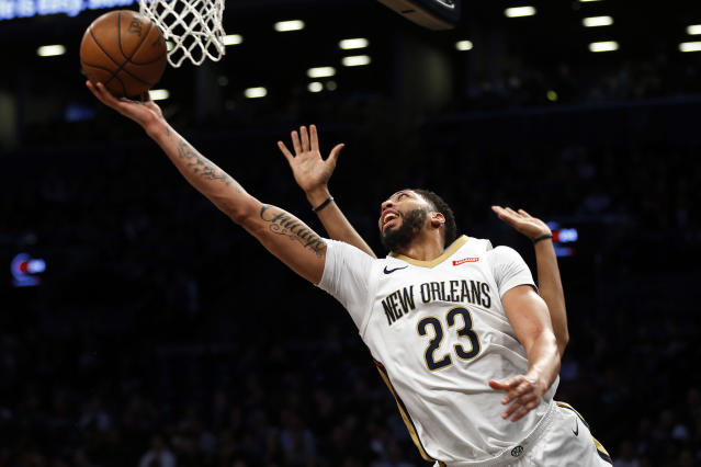 Anthony Davis is a five-time All-Star. (AP)