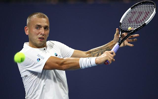 Dan Evans had qualified for the Miami Open main draw as a