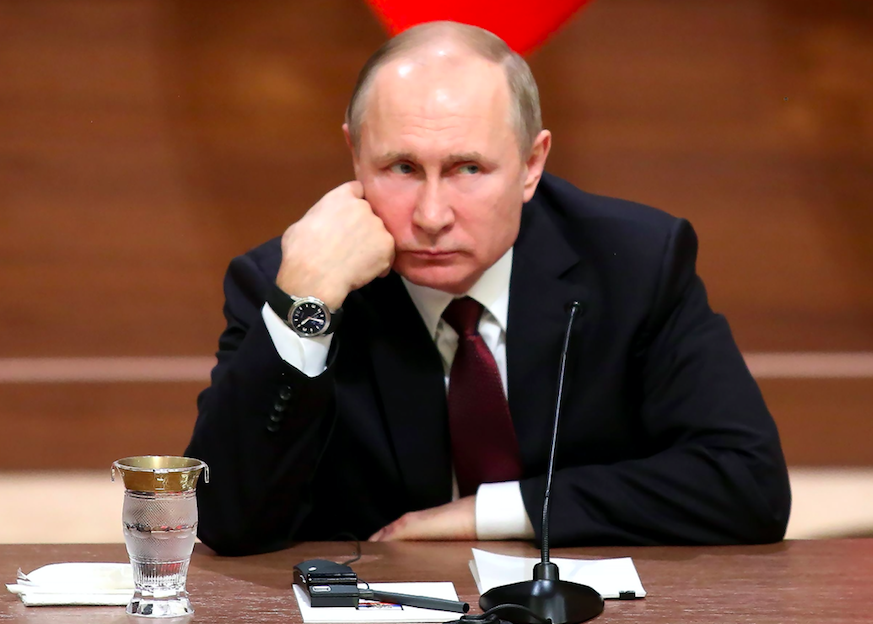 <em>Russia insists it has nothing to do with the attack on the Skripals (Rex)</em>