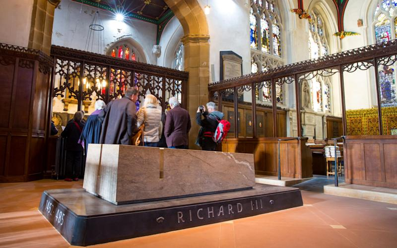 Leicester Cathedral - Credit: Stephen Daniels for the Telegraph