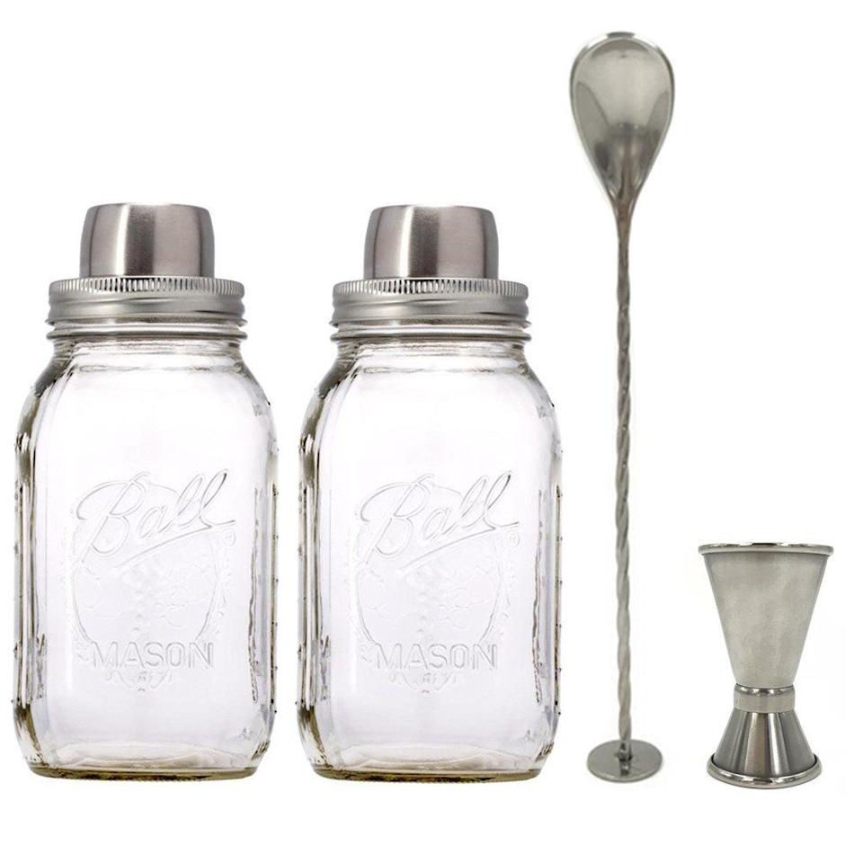 "<p><a rel=""nofollow"" href=""https://www.amazon.com/Stainless-Cocktail-Silicone-Regular-Canning/dp/B079CB8DCD/ref=sr_1_7"">SHOP NOW</a></p><p>She definitely needs this cutest, totally hipster cocktail set for her home bar. Cause she<em> is</em> still so cool! <br></p><p><em>$19, <a rel=""nofollow"" href=""https://www.amazon.com/Stainless-Cocktail-Silicone-Regular-Canning/dp/B079CB8DCD/ref=sr_1_7"">amazon.com</a></em></p>"