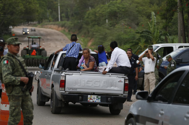 Migrants Returning Home amid Mexico's Crackdown, Says AP