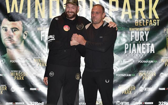 How to watch the Tyson Fury fight tonight: live stream details and TV channel information  - Getty Images Europe