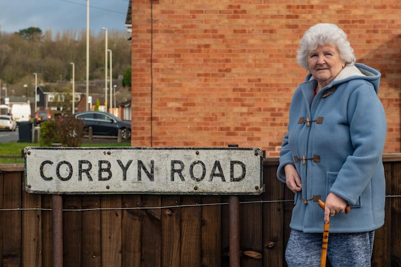 Marion Smith, 73, is a resident of Corbyn Road. (SWNS)