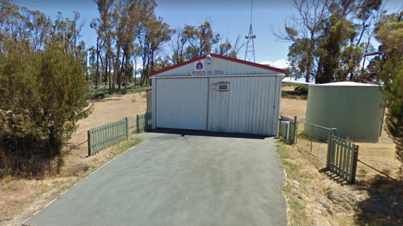 Picture of Weymouth fire station, which was targeted by thieves last night. Source: Google Maps