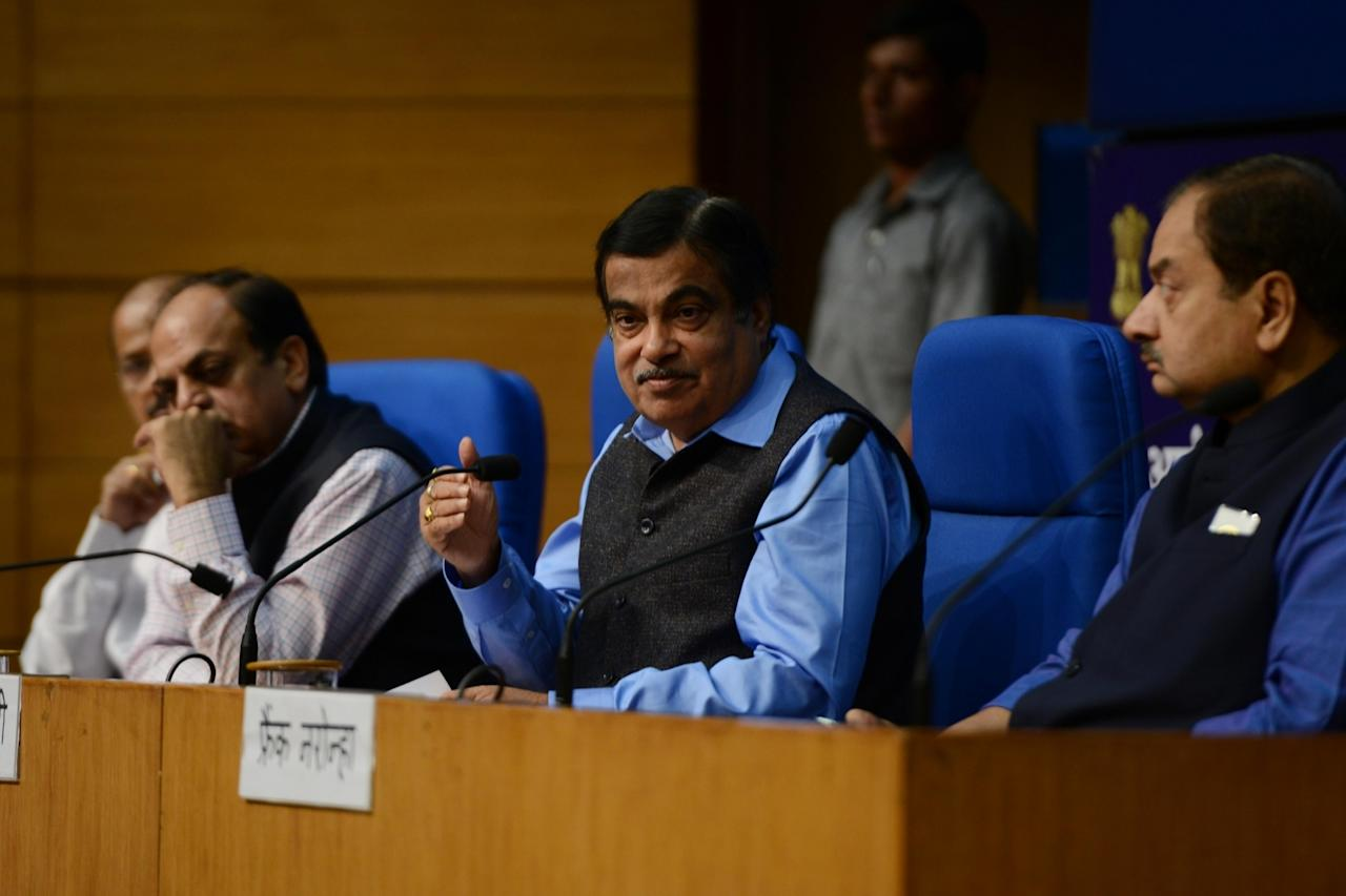 <p>Bharatmala Project: The Rs 14,000-crore, 25,000-km Bharatmala Project will connect India's west-to-east land border from Gujarat to Mizoram. It will also link a road network in coastal states from Maharashtra to West Bengal. It is estimated to be completed by 2022. </p>