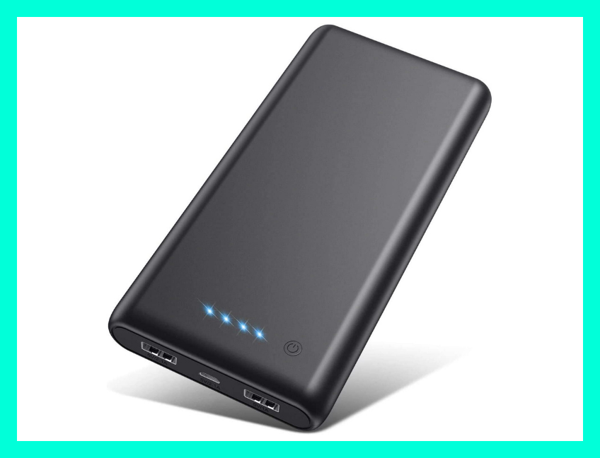 This top-rated portable charger will juice you up on the go. (Photo: Amazon)