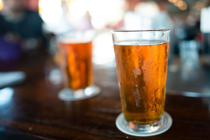 """But remember: it's <a href=""""https://www.samueladams.com/craft-beers/boston-lager"""" target=""""_blank"""">a lot of calories</a>, but also a lot of ounces."""