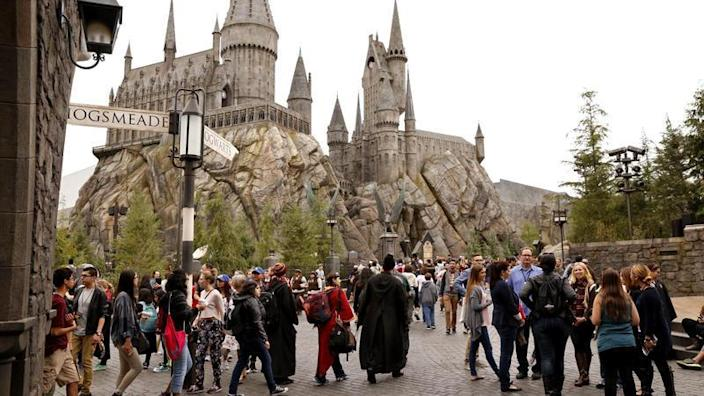 The Wizarding World of Harry Potter opened in 2016 at Universal Studios Hollywood.