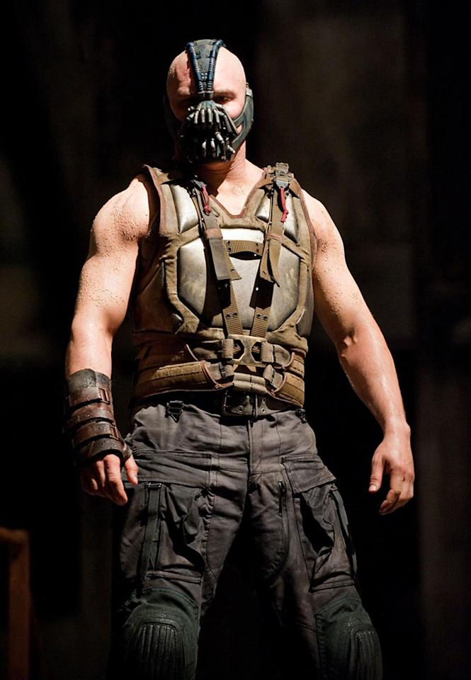 """Tom Hardy in Warner Bros. Pictures' """"The Dark Knight Rises"""" - 2012"""