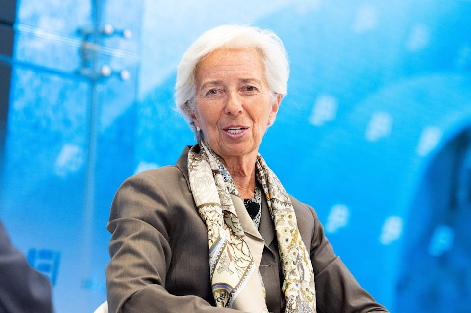 ECB president Christine Lagarde. Photo: Michael Brochstein/Sipa USA