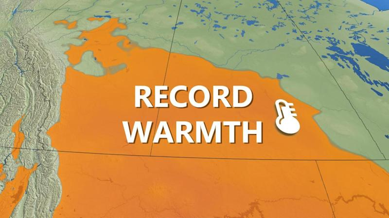 Prairies: Brief warmth could be record-breaking before Arctic air returns