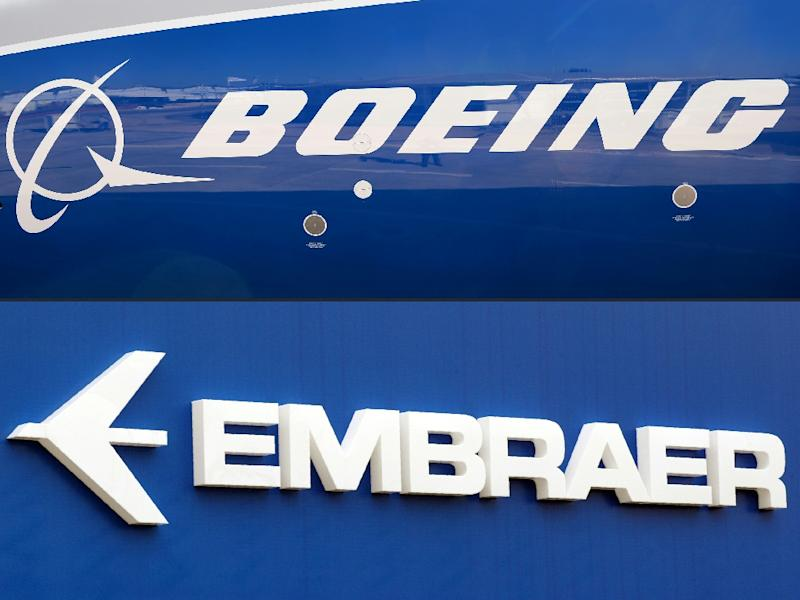 The two companies had announced in July that American Boeing would take control of Brazilian Embraer's commercial aeroplane manufacturing business but the deal hit a snag last week when Bolsonaro expressed concerns over the deal