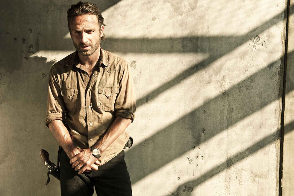 Rick Grimes (Andrew Lincoln) - The Walking Dead - Gallery Photography - PHoto Credit: Frank Ockenfels/AMC