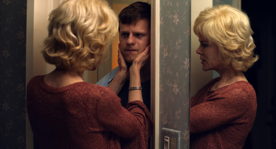 Nicole Kidman plays the mother to Hedges' Jarred in the gay conversion therapy drama (Focus Features via AP)
