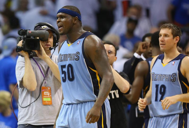 Grizzlies beat Thunder 111-105 in OT to tie series