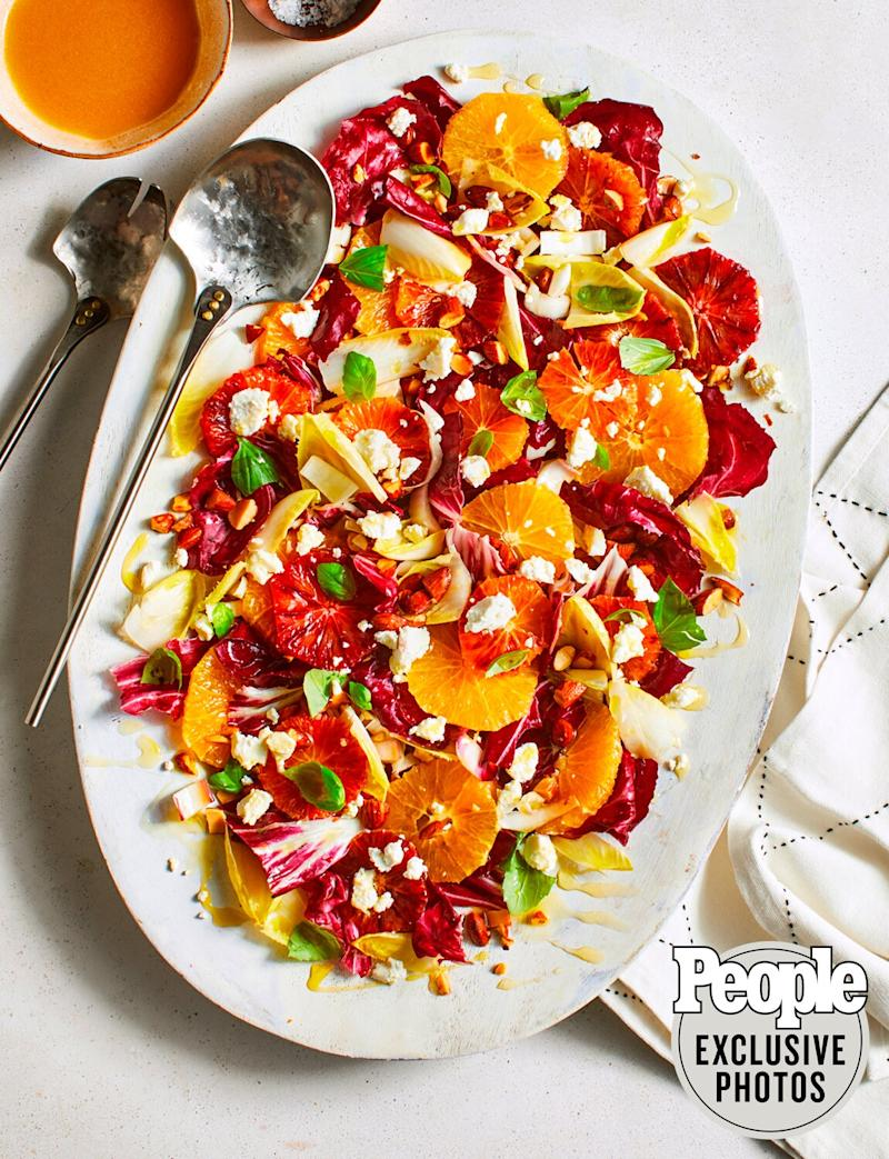 Scott Conant's Endive, Orange & Goat Cheese Salad