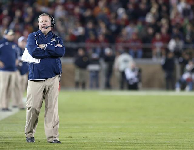 Brian Kelly says Notre Dame's ACC arrangement benefits other sports more
